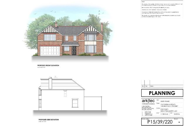Thumbnail Detached house for sale in Chobham Road, Sunningdale, Ascot
