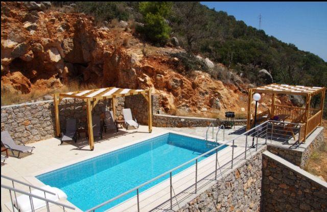 Villa Jasmine Pool Area.
