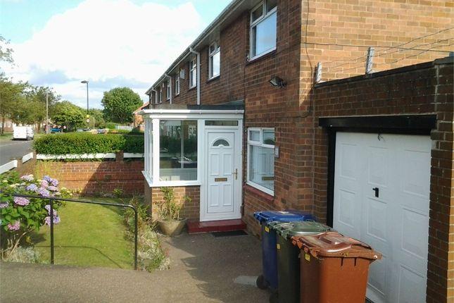 Thumbnail End terrace house for sale in Burwell Avenue, Denton Burn, Newcastle Upon Tyne, Tyne And Wear