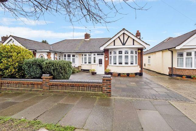 Thumbnail Semi-detached bungalow for sale in Ferguson Avenue, Gidea Park, Romford