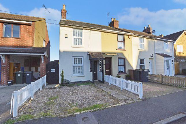 Thumbnail End terrace house for sale in Cudworth Road, Willesborough, Ashford