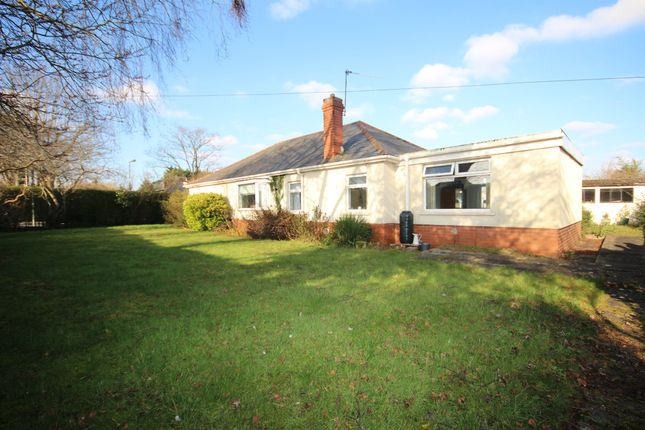 Thumbnail Detached bungalow for sale in Caegwyn Road, Whitchurch, Cardiff