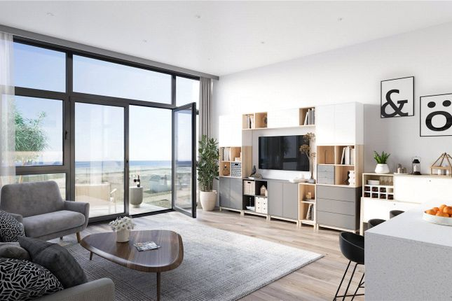 Thumbnail Flat for sale in Waterfront, Goring-By-Sea, West Sussex
