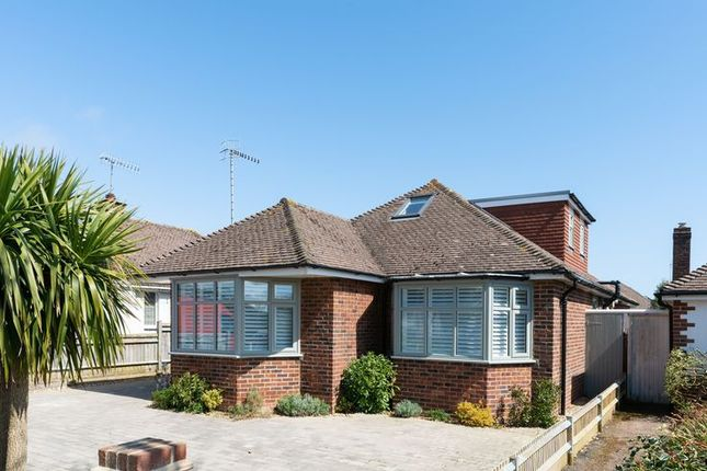Thumbnail Detached bungalow for sale in Wellesley Avenue, Goring-By-Sea, Worthing