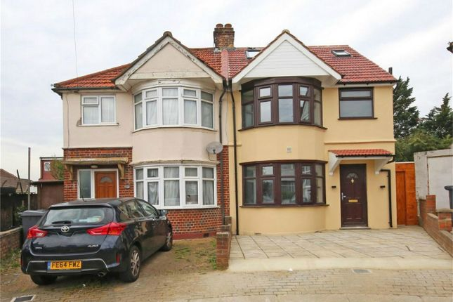 Thumbnail Semi-detached house for sale in Stuart Avenue, Kingsbury, London