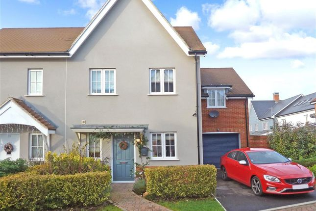 Thumbnail Semi-detached house for sale in Churchill Way, Broadbridge Heath, West Sussex