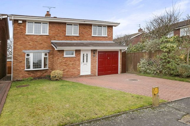 Thumbnail Detached house for sale in Dunster Grove, Perton, Wolverhampton