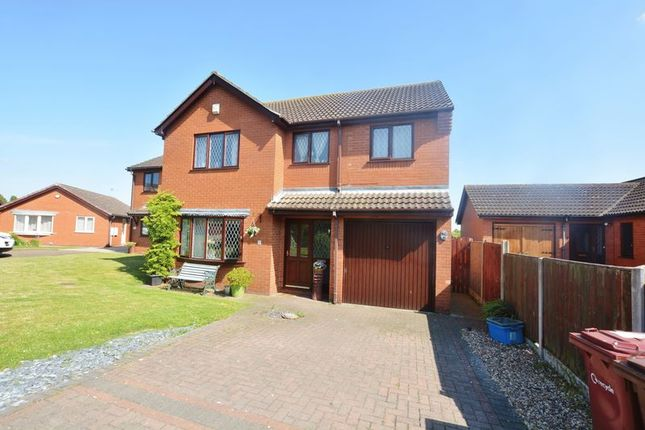 Thumbnail Detached house for sale in Boston Close, Winterton, Scunthorpe