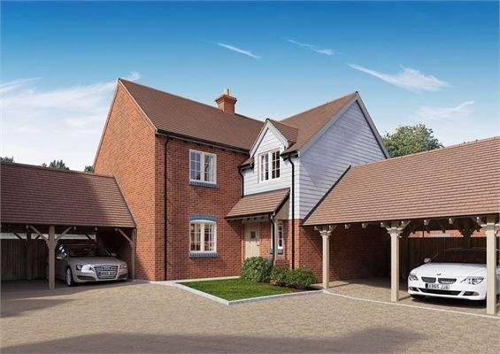 Thumbnail Semi-detached house for sale in Albone Grange, Roadside Farm, Potton Road, Biggleswade, Bedfordshire
