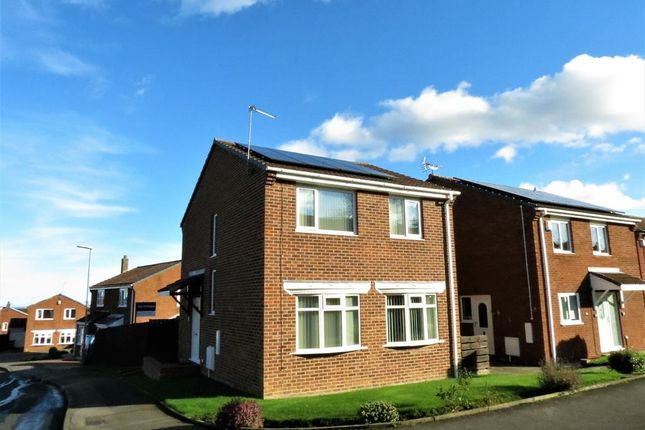 Thumbnail Detached house for sale in Dilston Close, Oakerside Park, Peterlee, County Durham