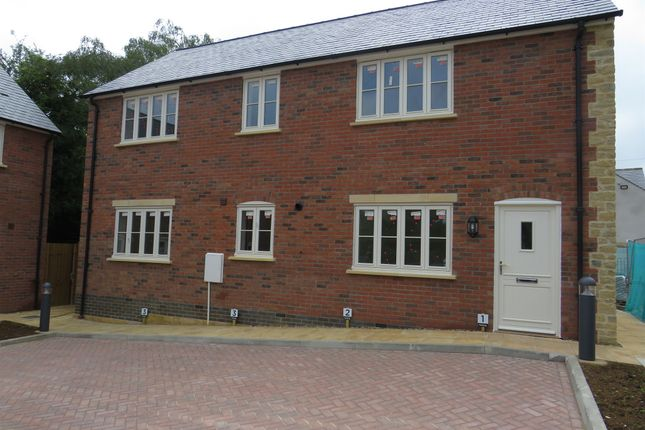 Thumbnail Semi-detached house for sale in Swan Place, Old Stratford, Milton Keynes