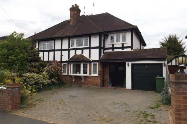 Thumbnail Semi-detached house for sale in Grange Crescent, Chigwell