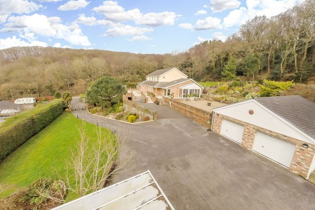 Thumbnail Detached house for sale in Coed Cwrt, Penhow, Caldicot