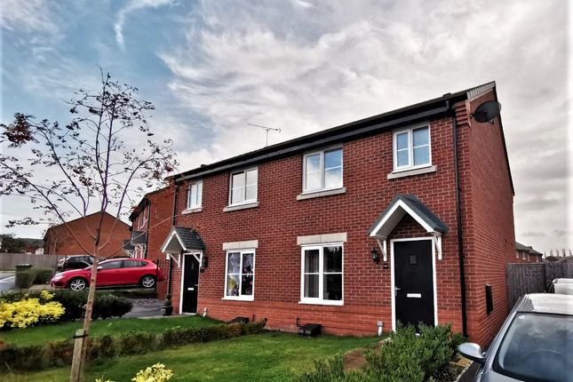 Thumbnail Semi-detached house to rent in Gregory Crescent, Winsford