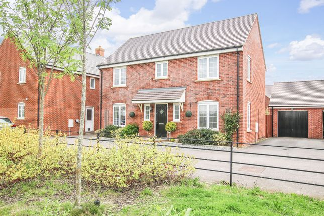 Thumbnail Detached house for sale in Swift Way, Wixams