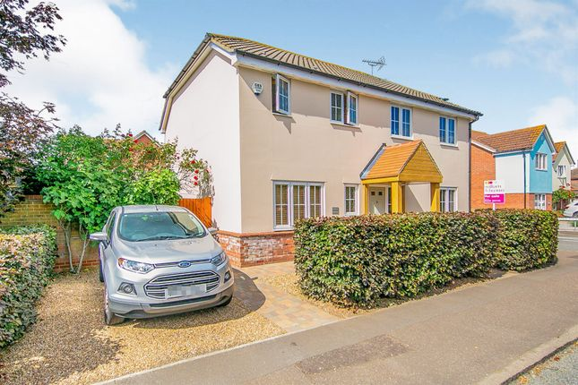 Thumbnail Detached house for sale in Oakley Road, Dovercourt, Harwich