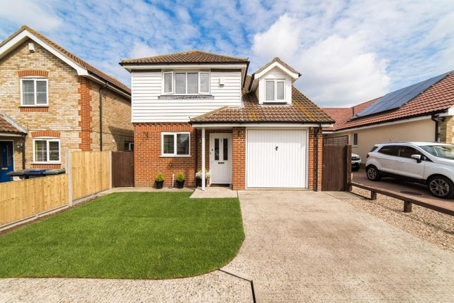 Thumbnail Detached house for sale in Foxdene Road, Seasalter, Whitstable