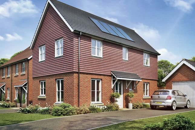 "Thumbnail Detached house for sale in ""The Redwood"" at Sandy Lane, Waltham Chase, Southampton"