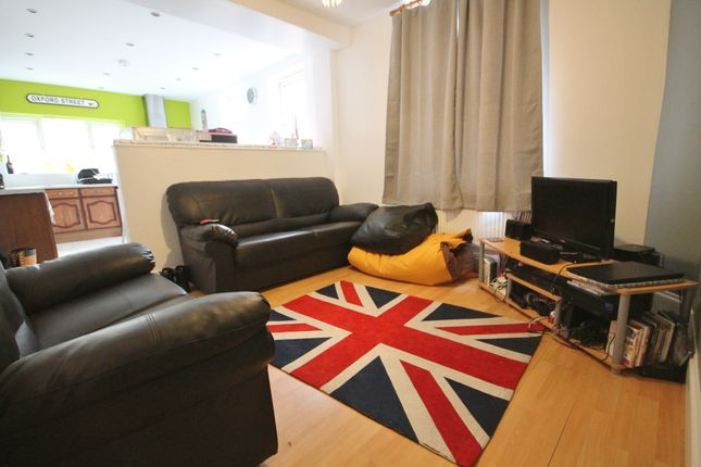 Thumbnail End terrace house to rent in Fosse Road South, West End, Leicester