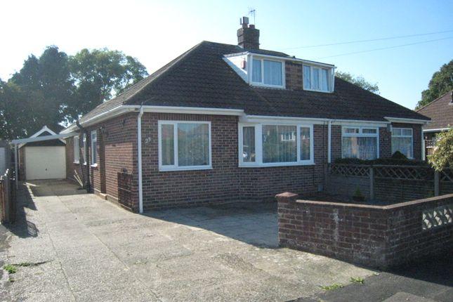 Thumbnail Semi-detached bungalow to rent in Napier Crescent, Fareham