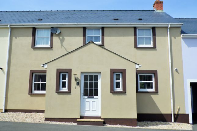 Thumbnail Terraced house for sale in Hall Court, Johnston, Haverfordwest