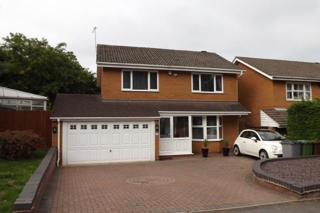Thumbnail Detached house for sale in Kingsleigh Drive, Castle Bromwich, Birmingham
