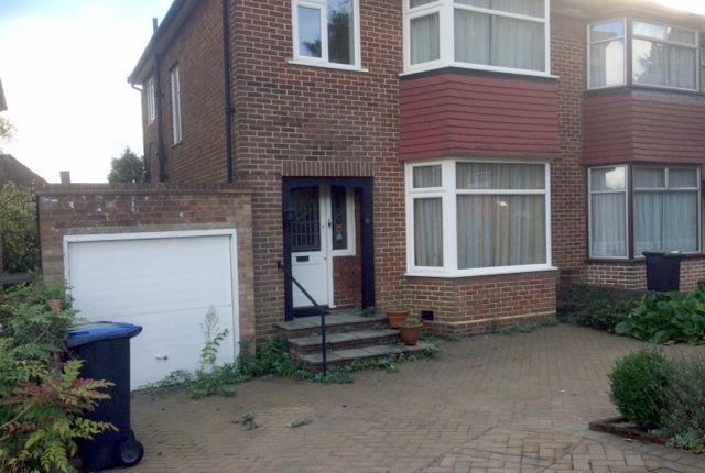 Thumbnail Semi-detached house for sale in Brayton Gardens, Oakwood, Enfield