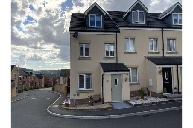 Thumbnail End terrace house for sale in Emily Fields, Swansea