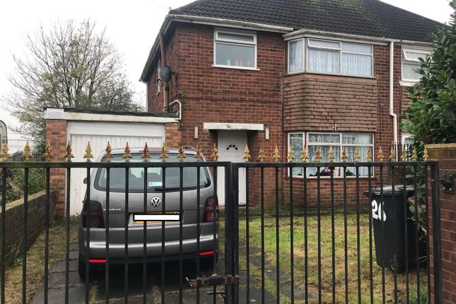 Thumbnail Semi-detached house to rent in Taylor Road, Wolverhampton, West Midlands