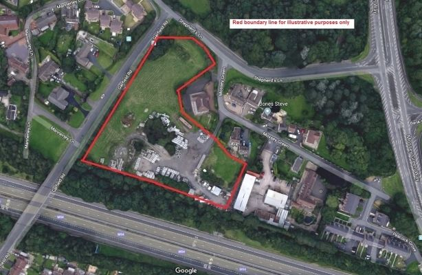 Thumbnail Commercial property for sale in Land Off Garfield Road, Red Lake, Telford, Shropshire