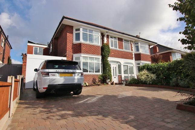Thumbnail Semi-detached house for sale in Glenavon Road, Prenton, Wirral