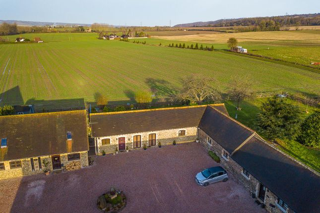 # Aerial Front-2 of West Barn, Great Cossington Farm, Aylesford ME20