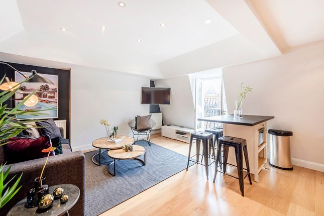 Thumbnail Flat to rent in Percy Street, London