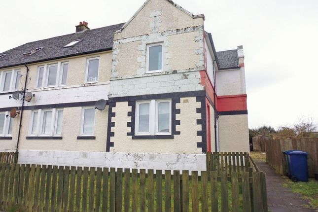 Thumbnail Maisonette for sale in St. Brides Road, Rothesay, Isle Of Bute
