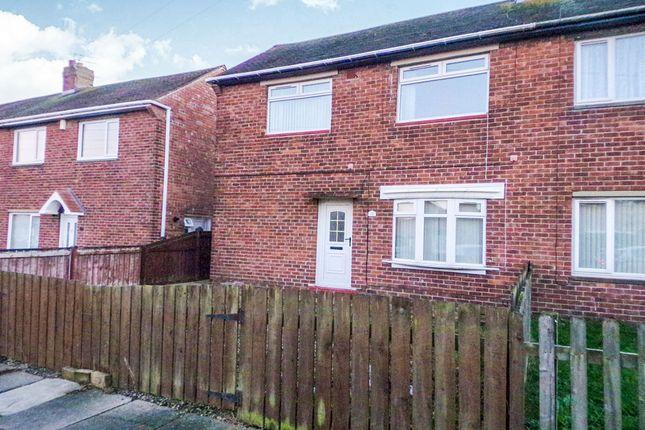 Thumbnail Semi-detached house to rent in Fern Drive, Dudley, Cramlington