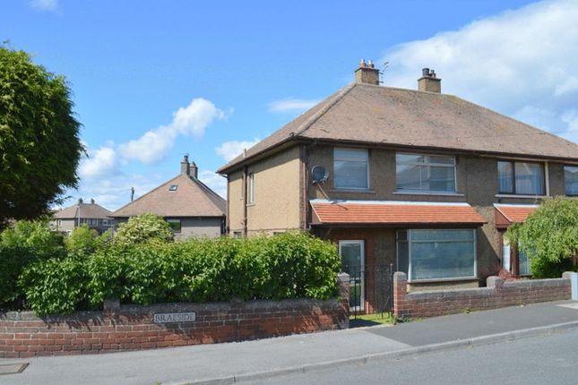 Thumbnail Semi-detached house for sale in Braeside, Berwick-Upon-Tweed, Tweedmouth