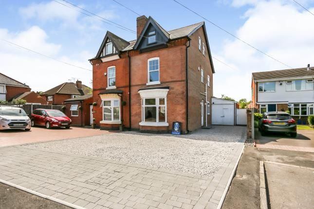 4 bed semi-detached house for sale in Bickenhill Park Road, Olton, Solihull, West Midlands B92