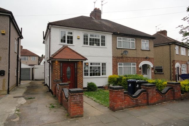 Thumbnail Semi-detached house for sale in Parkfield Road, Northolt