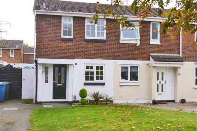 Thumbnail Semi-detached house for sale in Brambling, Wilnecote, Tamworth, Staffordshire