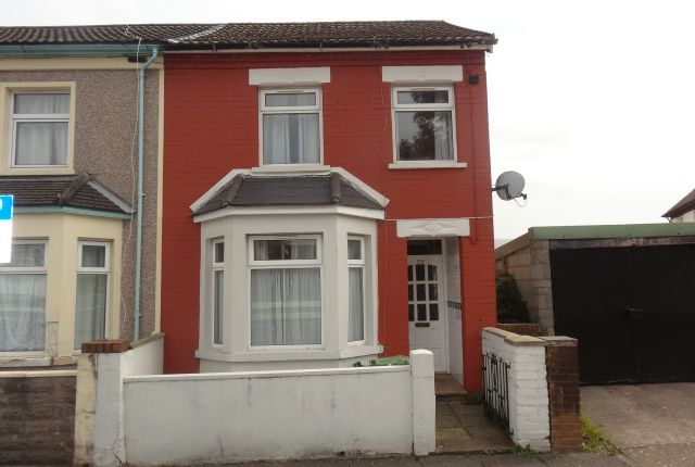 Thumbnail End terrace house to rent in Oxford Street, Treforest, Pontypridd