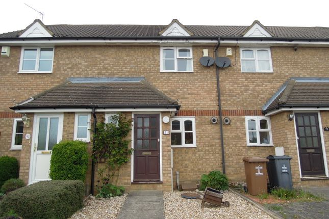 Thumbnail Terraced house to rent in Hayfield, Stevenage