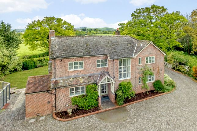 Thumbnail Detached house for sale in New House Lane, Pulverbatch, Shrewsbury