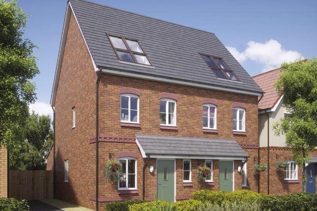 Thumbnail Semi-detached house for sale in Hinkshay Road, Dawley, Telford