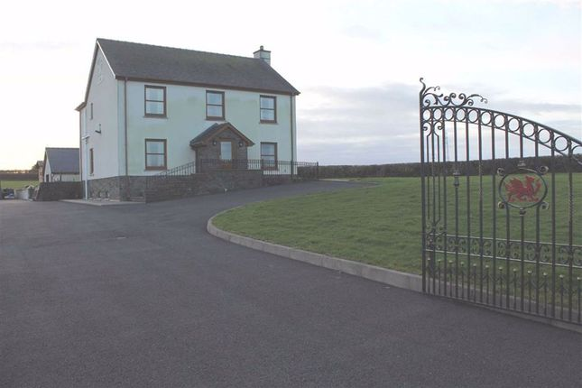 Thumbnail Detached house for sale in Uplands, Carmarthen
