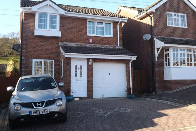 Thumbnail Detached house for sale in Buttercup Court, Ty Canol, Cwmbran