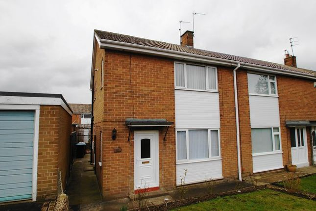 Thumbnail Semi-detached house to rent in Hopgarth Gardens, Chester Le Street