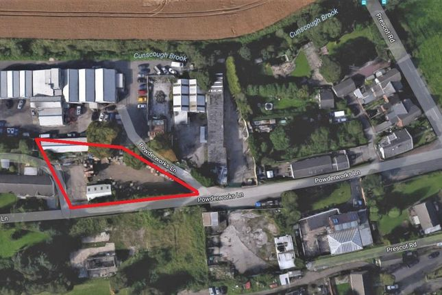 Thumbnail Land for sale in Powder Works Lane, Melling, Liverpool