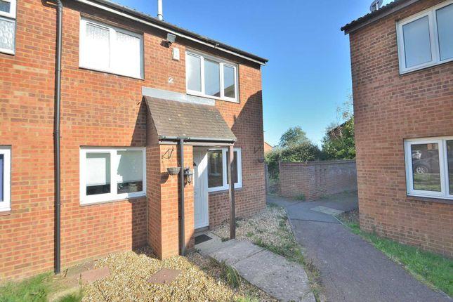 Thumbnail Semi-detached house to rent in Medhurst, Two Mile Ash, Milton Keynes