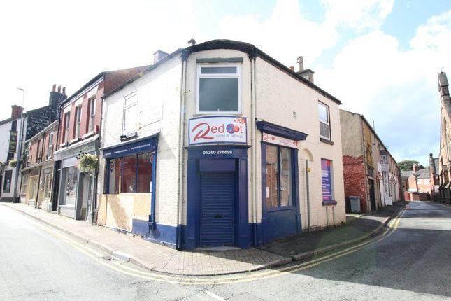Land for sale in Cross Street, Congleton