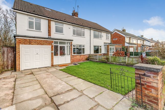 Thumbnail Semi-detached house for sale in Meadway, Upton, Wirral